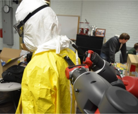 Ebola PPE for Scientists and Engineers